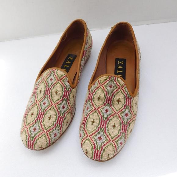 ea1b4333ef1 Zalo Shoes - ZALO NEEDLEPOINT LOAFERS SIZE 7.5
